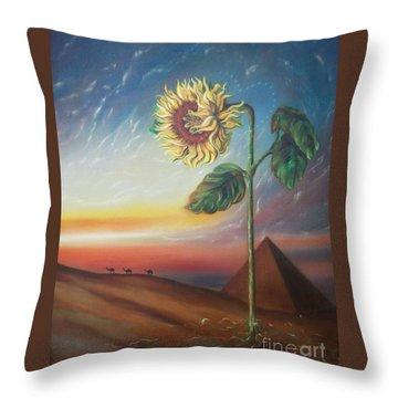 Blaa Kattproduksjoner              Ancient Energy Throw Pillow