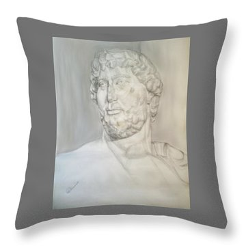 Ancient Greek Statue Throw Pillow