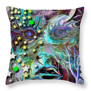 Ancient Knowledge Throw Pillow by Mimulux patricia no No