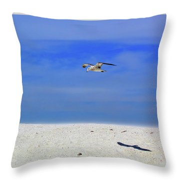 Throw Pillow featuring the photograph Ancient Mariner by Marie Hicks