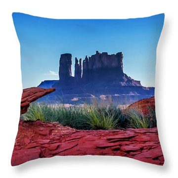 Ancient Monoliths Throw Pillow