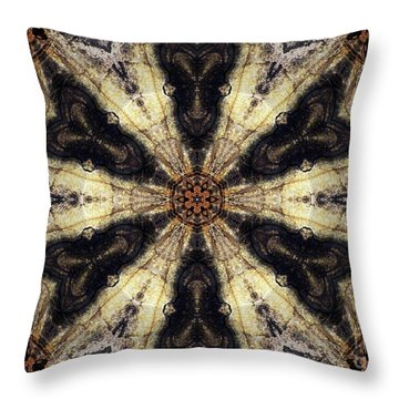 Ancient Of Days Throw Pillow
