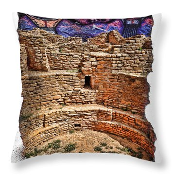 Ancient Ones Throw Pillow