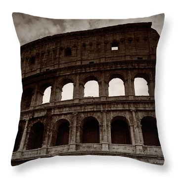 Throw Pillow featuring the photograph Ancient Times by Stefan Nielsen