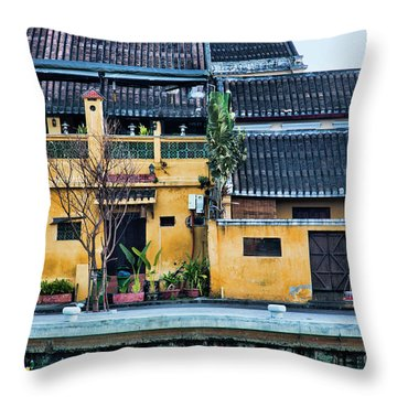 Ancient Town Hoi An Throw Pillow