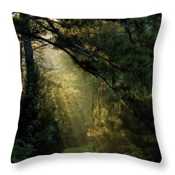 And A New Day Will Dawn... Throw Pillow