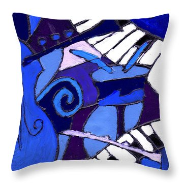 and All that Jazz 3  Throw Pillow