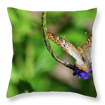 And Away She Goes Throw Pillow