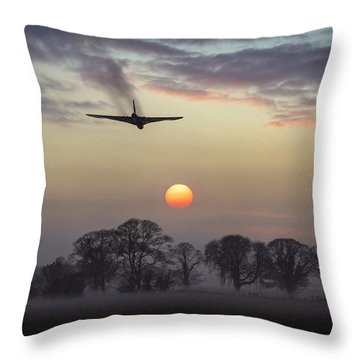 And Finally Throw Pillow