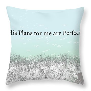 And I Wait Throw Pillow
