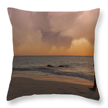 And Never Tear Us Apart Throw Pillow