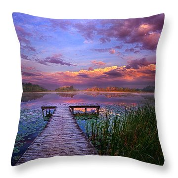 And Silence Throw Pillow