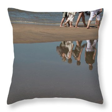 And So They Followed Throw Pillow