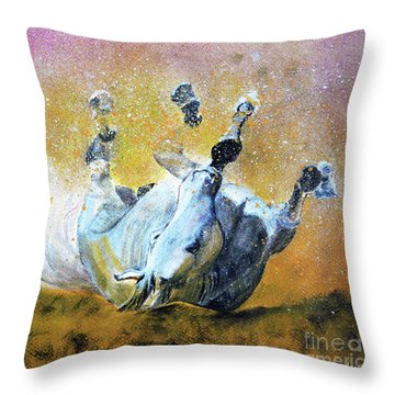 And The Fall Is Flight I Throw Pillow