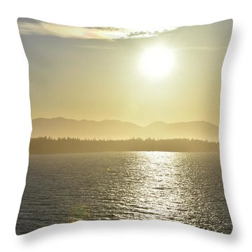 And The Sun Goes Down Throw Pillow