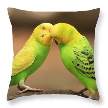 And Then He Kissed Me Throw Pillow