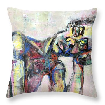 And Then Throw Pillow