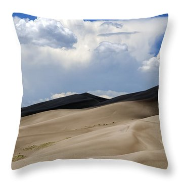 And Then The Storm Throw Pillow