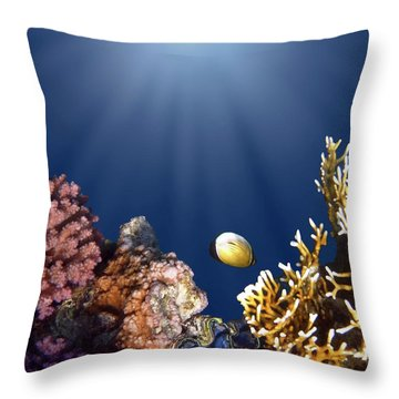 And Then There Was Light Throw Pillow