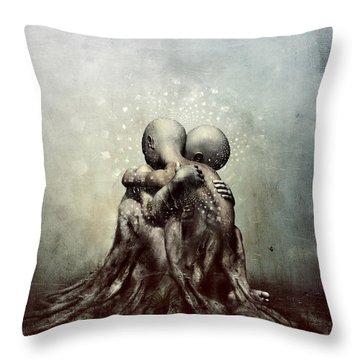 And Though We Fade Away Throw Pillow
