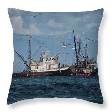 Kornat And Western Investor Throw Pillow by Randy Hall