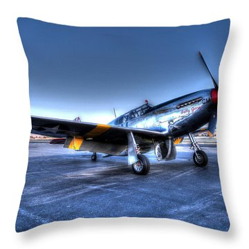 And Who Could Forget Betty Jean.  P51c Nl25imx  Throw Pillow