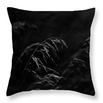 And Yet More Darkness Throw Pillow