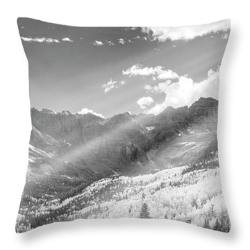 Throw Pillow featuring the photograph And You Feel The Scene by Jon Glaser