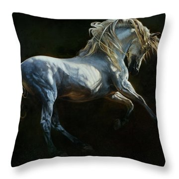 Andalusian Dance II Throw Pillow