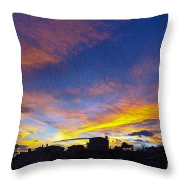 Andalusian Sunset Throw Pillow