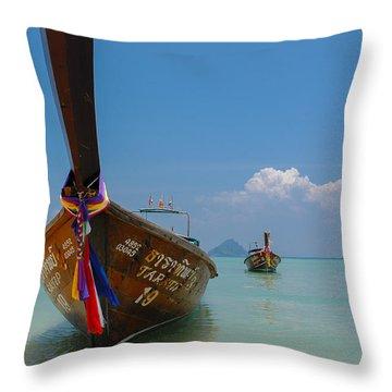 Andaman Dreams Throw Pillow
