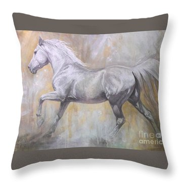 Andante Throw Pillow