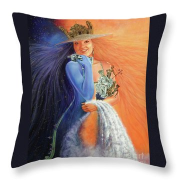 Andar La Habana' Throw Pillow