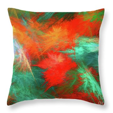 Andee Design Abstract 100 2017 Throw Pillow