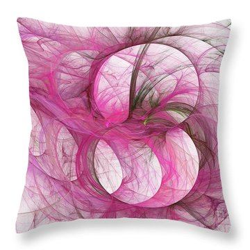 Andee Design Abstract 139 2017 Throw Pillow