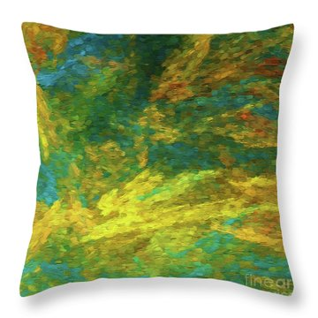 Throw Pillow featuring the photograph Andee Design Abstract 16 A 2018 by Andee Design