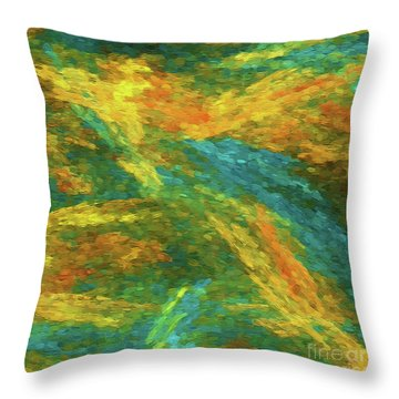 Throw Pillow featuring the photograph Andee Design Abstract 16 B 2018 by Andee Design