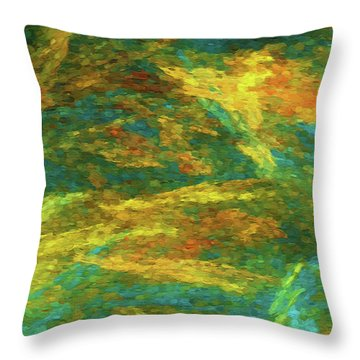 Throw Pillow featuring the photograph Andee Design Abstract 16 C 2018 by Andee Design