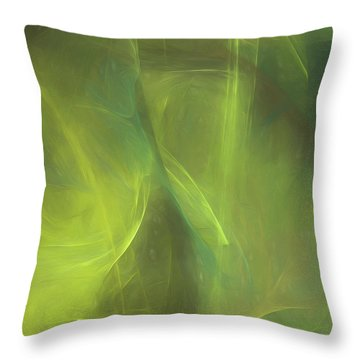 Throw Pillow featuring the digital art Andee Design Abstract 58 2017 by Andee Design