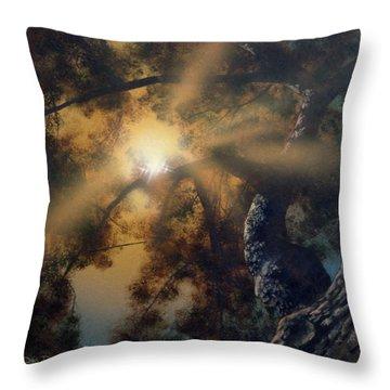 Andi's Oak Throw Pillow