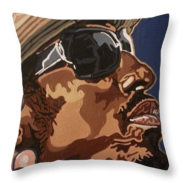 Andre 3000 Throw Pillow