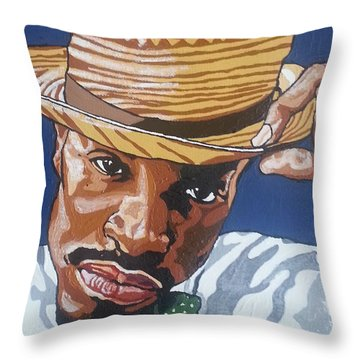 Andre Benjamin Throw Pillow