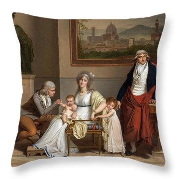 Andre-francois Miot Envoy Of The French Republic To The Grand Duke Of Tuscany Throw Pillow