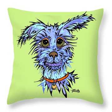 Andre Throw Pillow by Tanielle Childers