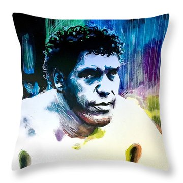 Andre The Giant Throw Pillow