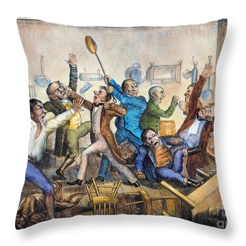 Andrew Jackson (1833) Throw Pillow by Granger