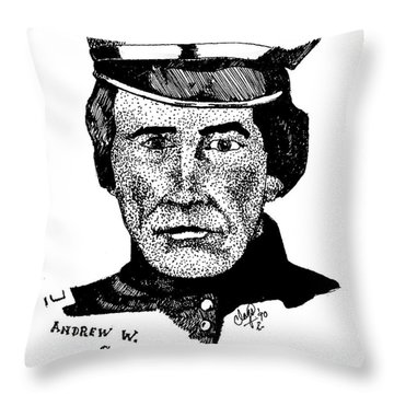 Andrew Sublette Throw Pillow