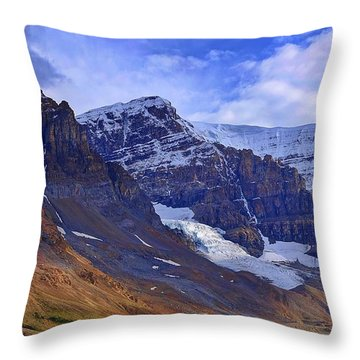 Mount Andromeda Throw Pillow
