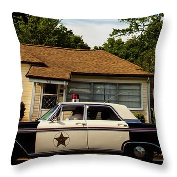 Andy And Barney Throw Pillow