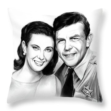Andy And Ellie Throw Pillow